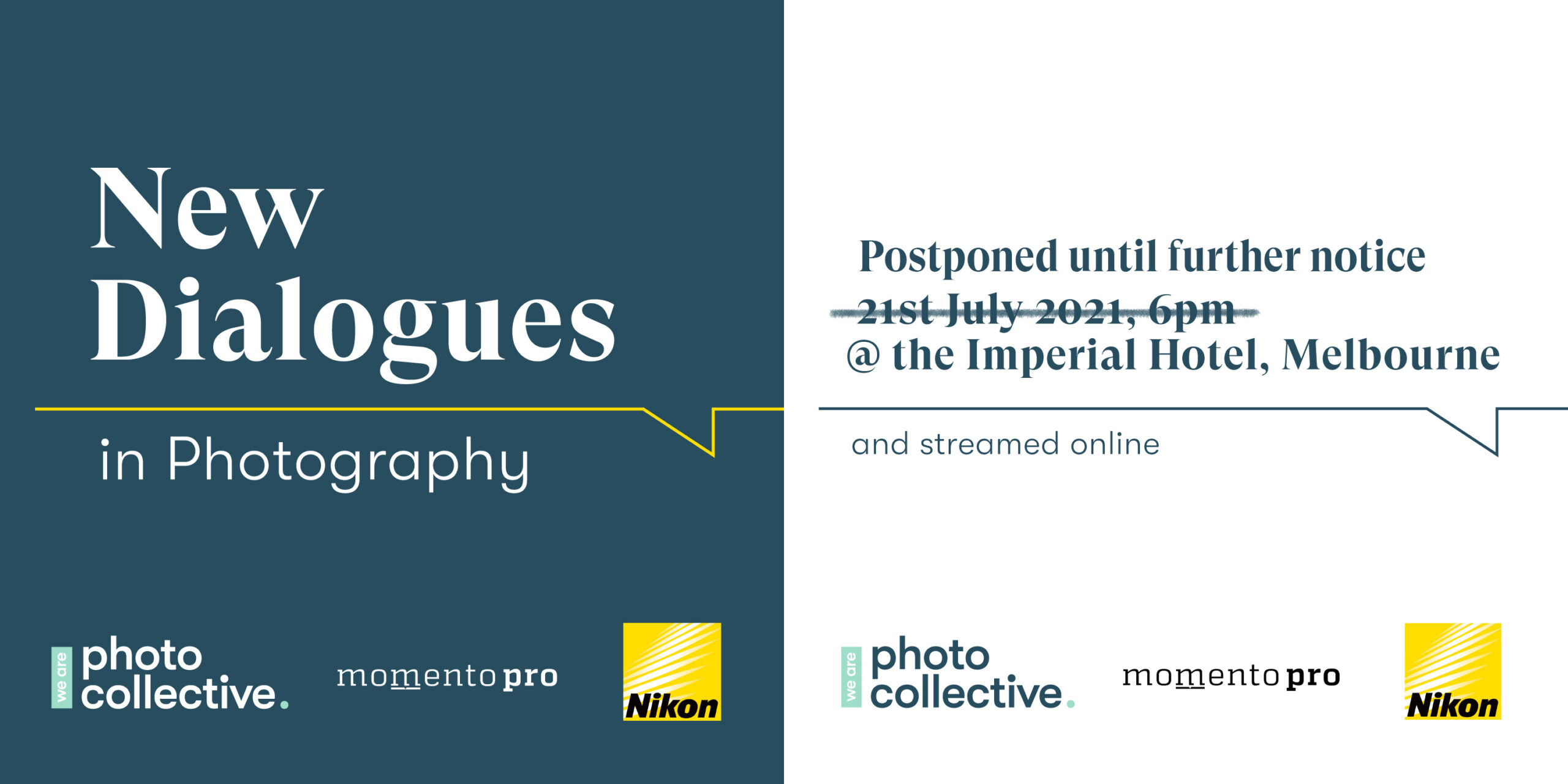 New Dialogues in Photography – Event